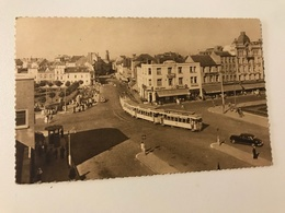Carte Postale Ancienne BLANKENBERGHE  Place De La Gare - Station Plein - Blankenberge
