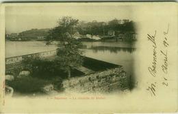 CPA FRANCE - BAYONNE - BAYONNE - LA CITADELLE DU REDUIT - PHOTO OUVRARD - MAILED BY M- BERNOVILLE 1902 ( BG7782) - Bayonne