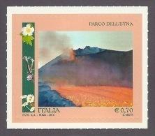 Italy - Mount Etna 2014 - Natural Heritage - Eruption, Landscapes, Paysages, Lava, Volcano Volcan Vulkan, Unesco MNH - 6. 1946-.. Republik