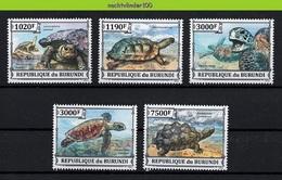 Nfp032 FAUNA REPTIELEN SCHILDPAD REPTILES TURTLE SCHILDKRÖTEN QWBU 2013 PF/MNH - Schildkröten
