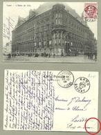 Gent Stadhuis Hotel De Ville Cachet Larodde 1909 Puy De Dome - Gent