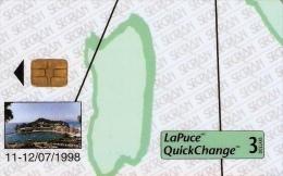 *ITALIA: SECRIAN - CONVEGNO FILATELICO SESTRI LEVANTE 1998* - Scheda A Chip Usata - Italië