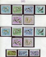 16921 VIET-NAM Du NORD Collection Vendue Par Page N°794/9, 794/9ND, 800/2 *  1973   TB - Viêt-Nam