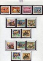 16922 VIET-NAM Du NORD Collection Vendue Par Page N°804/7, 808/12, 808/12 ND *  1973   TB - Viêt-Nam