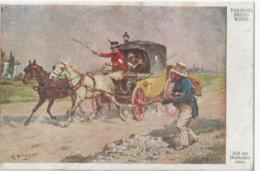 Cheval - Horse - Paard - Pferd - Theodor Breidwiser - Galerie Wiener Künstler Nr 660 - 1918 - Chevaux