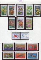 16924 VIET-NAM Du NORD Collection Vendue Par Page N°815/22 ND, 830/1, 832/7 *  1974   TB - Viêt-Nam