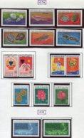 16925 VIET-NAM Du NORD Collection Vendue Par Page N° 832/7 ND, 838/9, 839A/9C, 839D/E, 840/1 */ **  1974-75   TB - Viêt-Nam