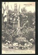 CPA Arnay-le-Duc, Souvenir De La Manifestation Nationale 3 Août 1919 - Arnay Le Duc