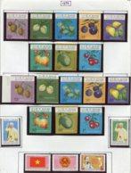 16927 VIET-NAM Du NORD Collection Vendue Par Page N° 855/62, 855/62 ND, 863/4, 865/7 */ **  1975   TB - Viêt-Nam