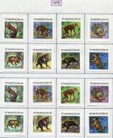 16930 VIET-NAM Du NORD Collection Vendue Par Page N° 892/9, 892/9 ND *  1975   TB - Viêt-Nam