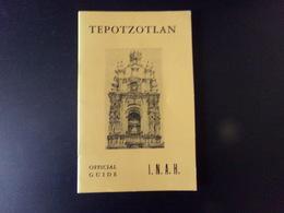 Tepotzotlan Par Obregon, 1961, 33 Pages - Architecture