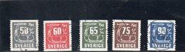SUEDE 1954 O - Suède