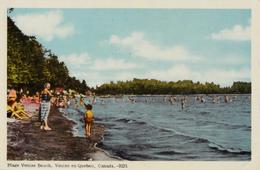 Venise-en-Québec - Plage Beach - 1955-1960 - Unused - 2 Scans - Quebec