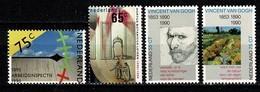 Nederl. 1990 Yv 1345/46**, 1347/48**,  NVPH 1440/41**, 1442/43**,   MNH - Unused Stamps