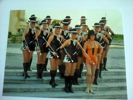 PHOTO MAJORETTES MAJOR S GIRLS MONTPELLIER 34 HERAULT - Reproductions