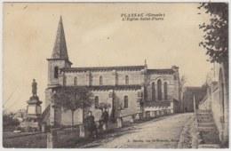 33 - CB53552CPA - PLASSAC - Eglise Saint Pierre - Très Bon état - GIRONDE - France