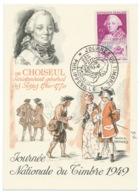 DE CHOISEUL / PHILIPPEVILLE ALGERIE / 1949 /  JOURNEE DU TIMBRE - Lettres & Documents