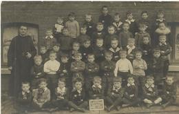 Ecole St Barbe Charleroi 1910   (3849) - Charleroi