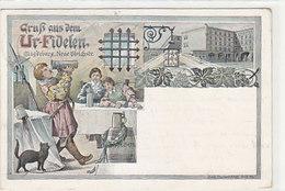 Gruss Aus Dem Ur-Fidelen Magdeburg - Neue Ulrichstrasse - Int. Frankatur - 1905         (A-186-191015) - Magdeburg