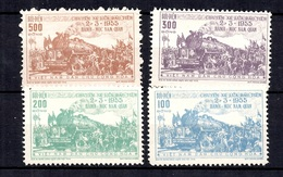 Vietnam Nord YT N° 89/92 Neufs ** MNH. TB. A Saisir! - Viêt-Nam