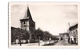 17 Saujon Place De L' Eglise Café CPSM PF - Saujon