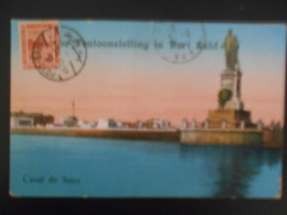 Egypte Carte De Port-said 1929 Pour Hyeres - Égypte