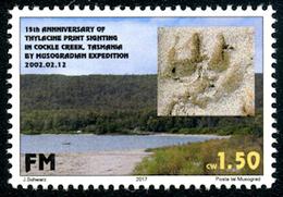 MUSOGRAD - Micronation - 2017 - Thylacine (Tasmanian Tiger) Print - Mint Never Hinged - Zonder Classificatie