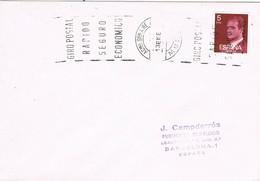 35853. Carta MURCIA 1977. Rodillo Correos  Academia General Del AIRE - 1931-Hoy: 2ª República - ... Juan Carlos I