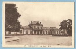 F0453  CPA  REMIREMONT    (Vosges)  La Gare    ++++++ - Remiremont