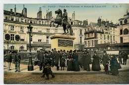 75 1er - PARIS - Place Des Victoires Et Statue De Louis XIV - Arrondissement: 01