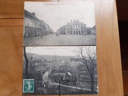 PUTANGES PONT ECREPIN   Place Du Marché, Hotel De Ville  Et  Route De Falaise - Putanges