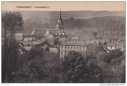 C8- 76) FOUCARMONT - PANORAMA  (1)  - (2 SCANS) - Other Municipalities