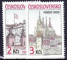 ** Tchécoslovaquie 1985 Mi 2834-5 (Yv 2645-6), (MNH) - Czechoslovakia
