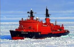 "Ship Postcards - Icebreaker  Ship "" Sovetsky Soyuz  ""   Read Description - Postcards"
