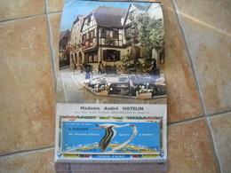Dambach-la-ville 67 . Calendrier Publicitaire Pour Les Potasses D'alsace . 7 Photos - Calendari