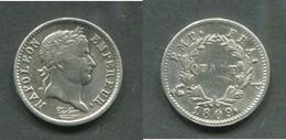 NAPOLEON Ier - 1/4 DE FRANC 1809 A - F. 25 Céntimos