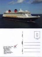 "Ship Postcard - Passenger    Ship  "" Disney Magic  "" Variant - Private Edition - Postcards"