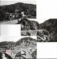 PAYSAGE DU VIVARAIS Les Gorges De La Beaume- Lot De 3 Cartes - Frankrijk