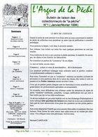 """L'Argus De La Pêche - Bulletin De Liaison Des Collectionneurs De La """"pêche"""" N°1 (janvier/février 1996) - Hunting & Fishing"""
