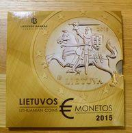 LITAUEN LIETUVA LITHUANIA 2015 First Euro Coin Mint Set BU - Lituania