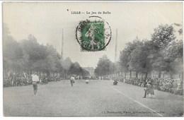 CPA NORD 59 LILLE Le Jeu De Balle (Jeux Traditionnels ) - Lille