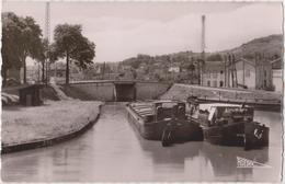 Le Port De St - Mansuy  Péniches - Frankreich
