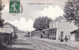 30 - Gard -  SAINT JEAN De VALERISCLE -   La Gare - Francia