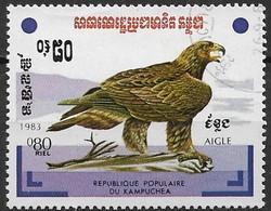 Cambodia (Kampuchea) 1983. Scott #429 (U) Eagle Bird's - Kampuchea