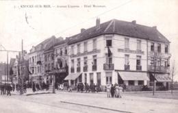 Belgique - KNOKKE- KNOCKE Sur MER - Avenue Lippens - Hotel Meysman - Knokke