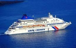 """Ship Postcards - Passenger   Ship """" Luis  Сristal     """"    Read Description - Ships"""
