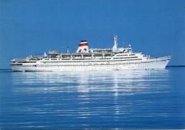 """Ship Postcards - Passenger   Ship """" Mikhail Lermontov   """"    Read Description - Ships"""
