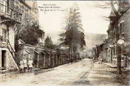 TROIS-PONTS - Route Venant De Vielsalm - Edition Desaix - Trois-Ponts