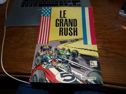 BD E.O 1965 Jean Valhardi Le Grand Rush - Pas D'écritures Déchirures Ou Autres - Couverture Carton Souple - Non Classés