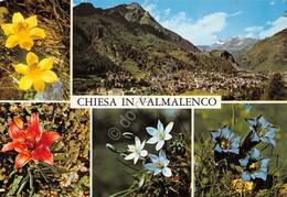 Cartolina Chiesa Valmalenco Vedute 1994 - Sondrio